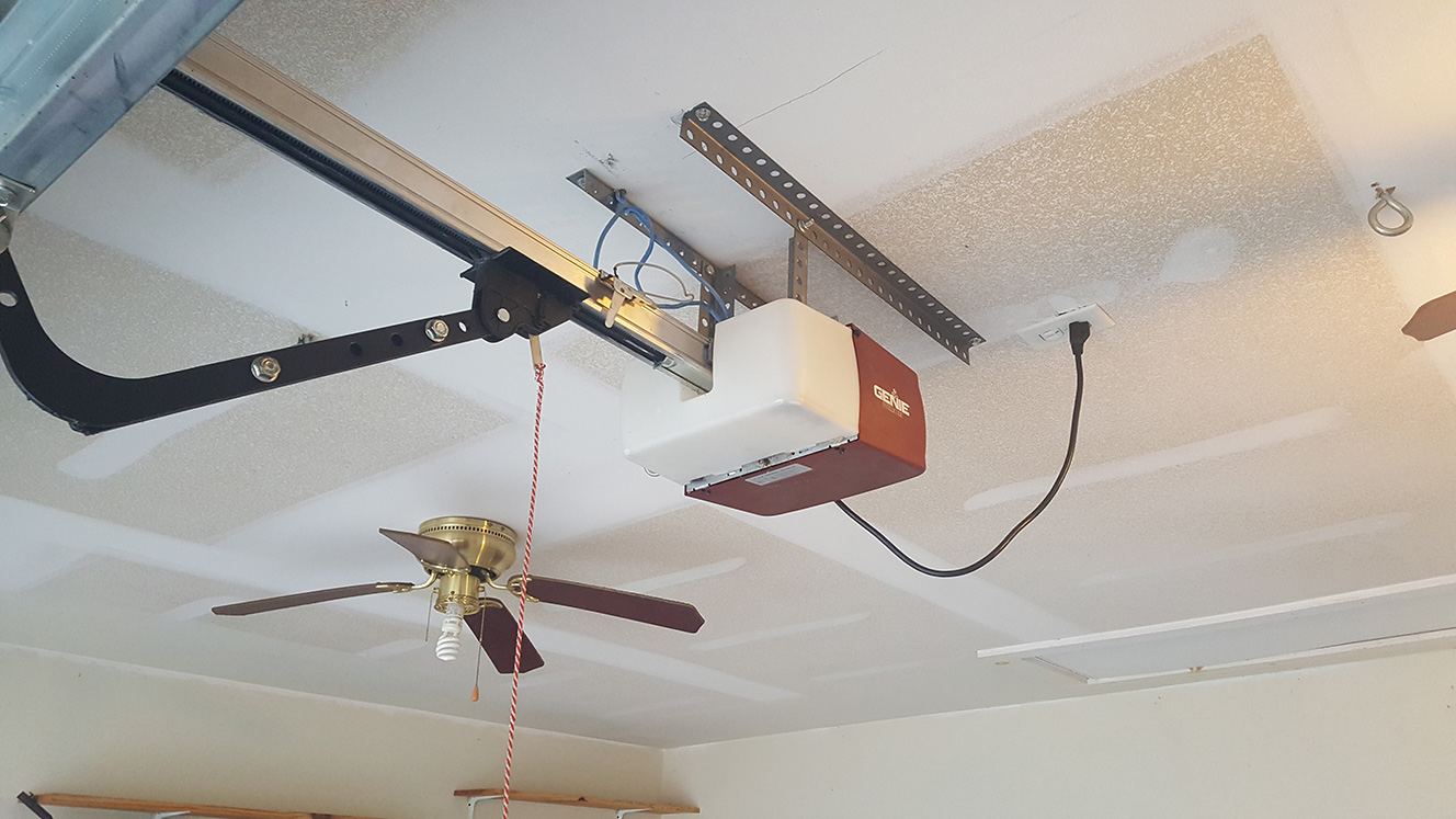 fixed garage door opener